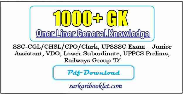 Lucent GK in Hindi 2020 PDF Download